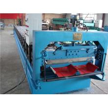 Machine de formage de rouleaux de panneaux de toit en acier galvanisé