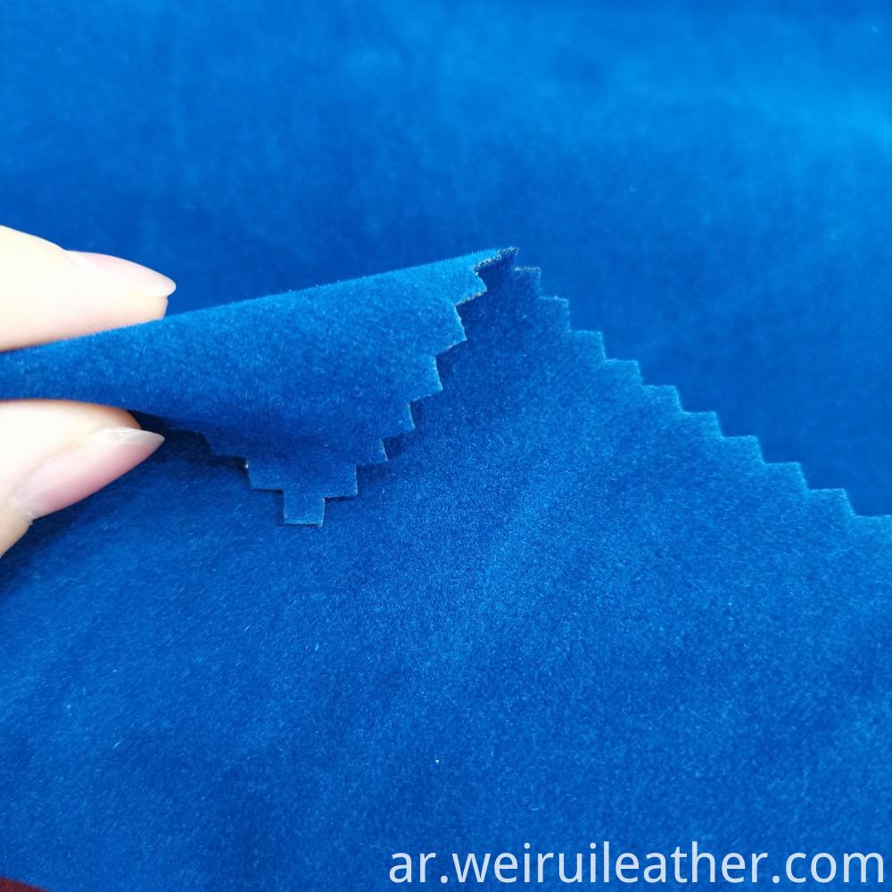 Unique Style Flocking Fabric