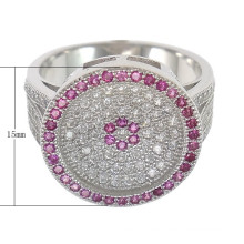 2015 Gets.com Mode Cubic Zirconia Micro pflastern Messing Finger Ring