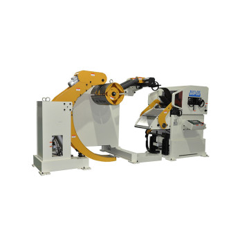 Nc Servo Feeder Uncoiler Straightener untuk Press line