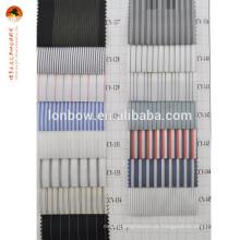 Listra barato forro de tecido de poliéster mercadorias da china