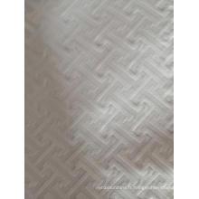 Tissu polyester gaufré pour textile de maison