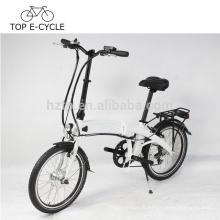 Nouveau design Mini pliant vélo électrique 20 pouces 250 W 36 V pliable ebike Chine