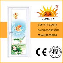 2016 Nueva puerta especial del baño de la aleación de aluminio (SC-AAD059)
