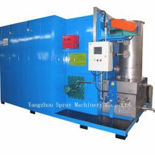 Sistema de forno de limpeza de buzina para instrumentos de metal