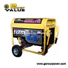 China 5KW Cheap Silent 220 volt Portable Generator