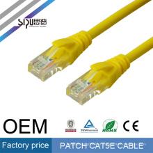 SIPU 1 m CCA cobre revestido de alumínio cinza rede de comunicação utp cat cat5e cabo