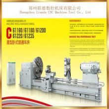 Fabricante horizontal barato profesional de la máquina del torno ligero de Cw61200 China