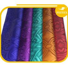 Popular Shaoxing supplier jacquard cotton brocade fabric nigerian hot design