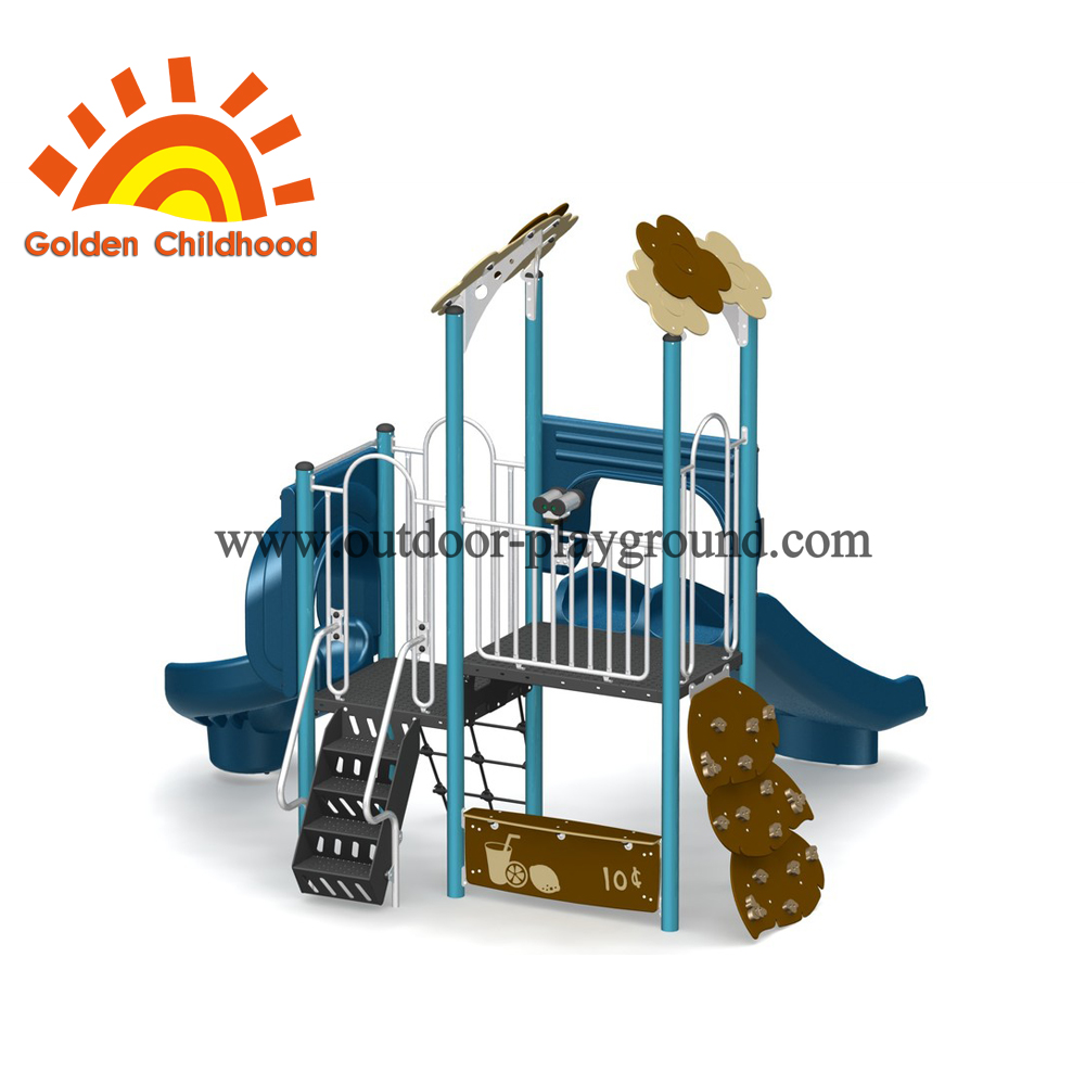 Backyard Slide Outdoor Playground Equipment For Sale
