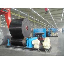 Cinta transportadora resistente al calor utilizada para transportar materiales de alta temperatura