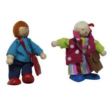Happy Family Series Hölzerne Figur Spielzeug für Kinder