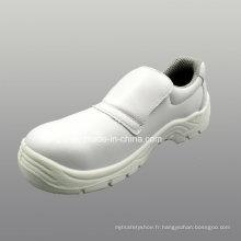 Chaussures de sécurité PU microfibre cuir artificiel avec Mesh doublure (HQ05023)