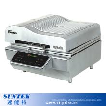 Máquina de impressão cerâmica da transferência térmica da sublimação da caixa 3D do telefone da caneca