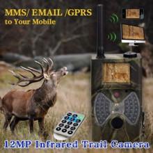 SMS Control MMS GPRS Infrarouge 12mp 1080 HD Jeu Caméra Chine avec télécommande nécessitant une batterie AA