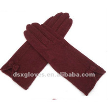 warm fashion 100 knitted cashmere gloves for ladies