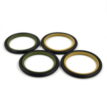 Hydraulic Rod Seal NBR + PTFE + Bronze Step Seal Hydraulic STD GSJ HTBS Seal With High Quality