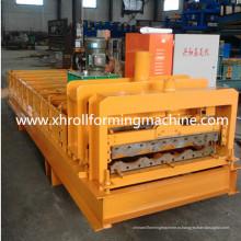 Профилегибочная машина для производства цветной глазурованной плитки
