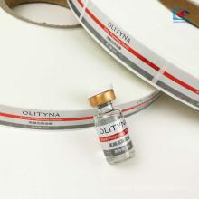 A cor imprimiu a etiqueta cosmética do óleo essencial do pearly-lustro autoadesivo
