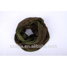 New viscose lace inset infinity scarf lace scarf