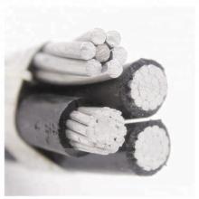 quadruplex service drop aac neutral aluminum conductor abc cable