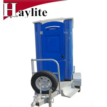 High quality portable porta potty steel trailer for rentals