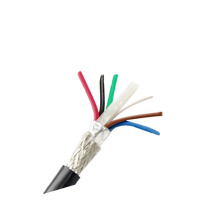 FEP PTFE high temperature performance shielded twisted pair tfzel cable