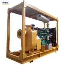 Pompe à eau auto-amorçante pour moteur diesel