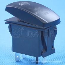4 Pins12V / 24V NO Objektiv wasserdichte Lichtschalter