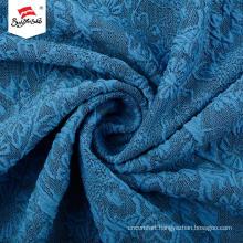 Different Kinds Soft Hand Feel Custom Jacquard Fabric