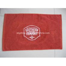 100% algodón personalizado barra toalla con Logo bordado