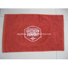 100% Cotton Custom Bar Towel with Embroidery Logo