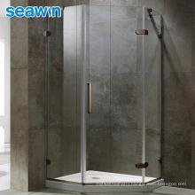 Seawin Modern Shower Enclosures Seal Rollers Aluminum Glass Cabin Diamond Shower Door