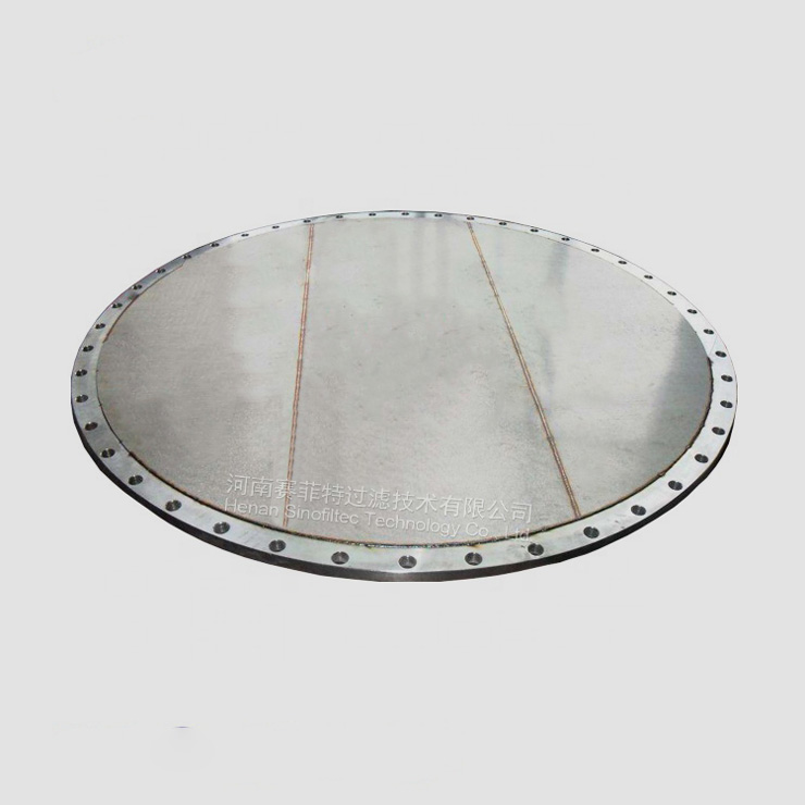 Stainless steel sintered disc
