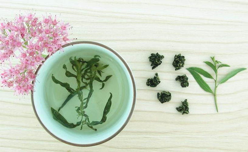 Wolfberry leaf tea