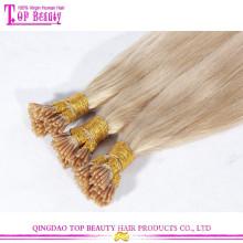 Оптовая продажа не клубок не линять необработанные Реми #613 блондинка я наклоняю волос кератина