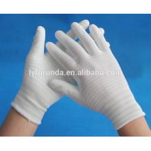 Luvas anti-estática U3 ESD luvas revestidas com PU na palma