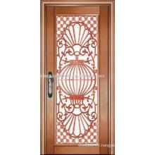 luxury copper door villa door exterior door single door KK-722