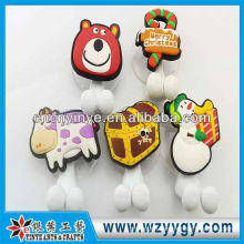 High quality cheap soft pvc holder for toothbrush as Christmas gift