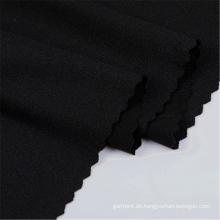 Schwarzes Polyester DTY Sport Wear Jersey Spandex Stoff