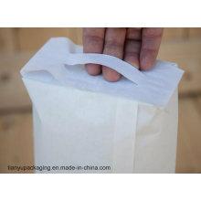 Sac en papier de ciment avec poignée PP Sticky