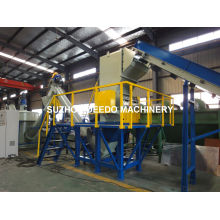 Plastic Crushing and Washing Machine