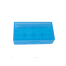 boîtier de batterie li-ion de couleur bleue 2pcs