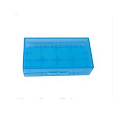 blue color 2pcs li-ion battery case