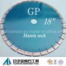 """GP 18 """"* 20 mm herramienta piedra diamante vio las láminas para el granito"""