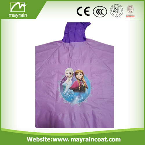 School Raincoat with Hood