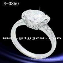 Anillo de joyería de plata de ley 925 de alta calidad