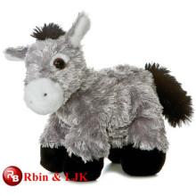 Treffen Sie EN71 und ASTM Standard ICTI Plüsch Spielzeug Fabrik gefüllten Esel