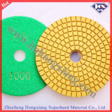Almohadillas abrasivas de diamante para piedra dura