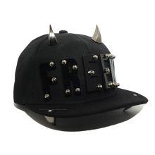 Personnalisez les casquettes Snapback à bandes métalliques